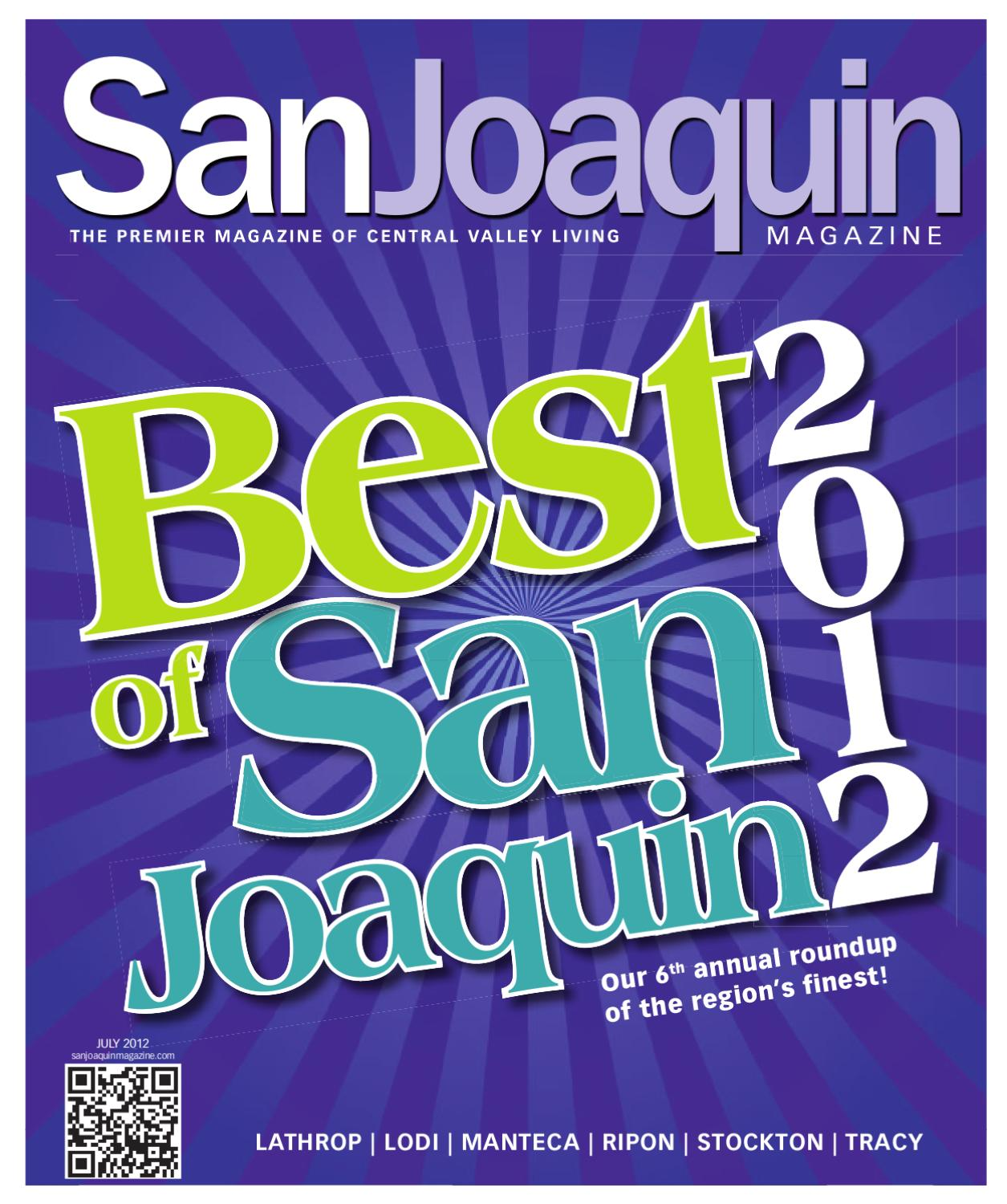 San Joaquin Magazine July 2012 By Issuu Voucher Outback Steakhouse 200000
