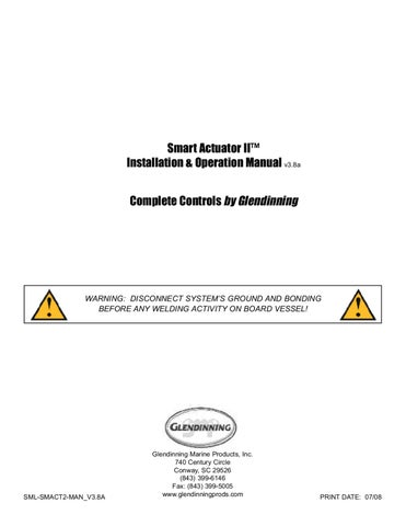 smart_actuator_ii_ _in by glendinning marine products, inc issuu