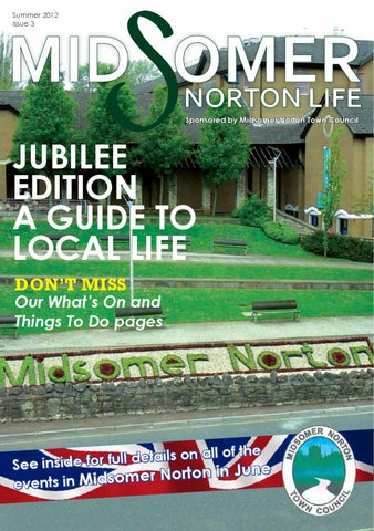 Midsomer Norton Life by Tina Veater - issuu