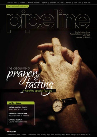 The Discipline Of Prayer And Fasting By The Salvation Army Issuu