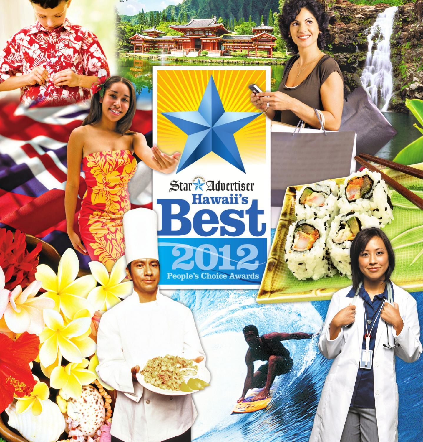 Hawaii's Best 2012 People's Choice Awards by Oahu