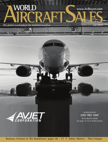 World Aircraft Sales Magazine July-12 by AvBuyer Ltd. - issuu on