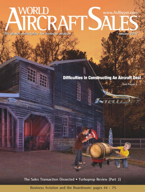 World Aircraft Sales Magazine Jan 12 by