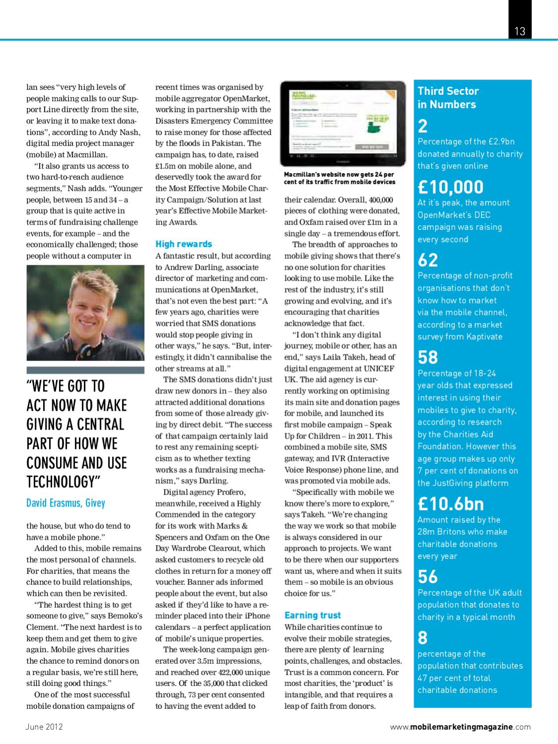 Mobile Marketing Issue 10, June 2012 by Mobile Marketing