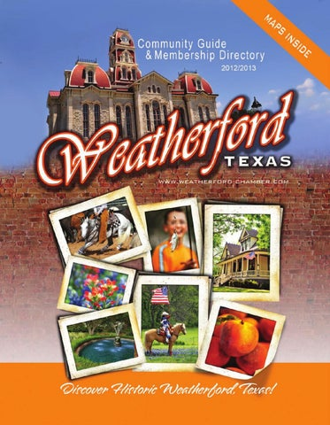 Weatherford Tx Community Profile By Townsquare Publications Llc Issuu