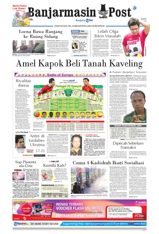 Banjarmasin Post Edisi Cetak Rabu 27 Juni 2012 By Loop Ekskul Voucher Map Rp 100000 Issuu