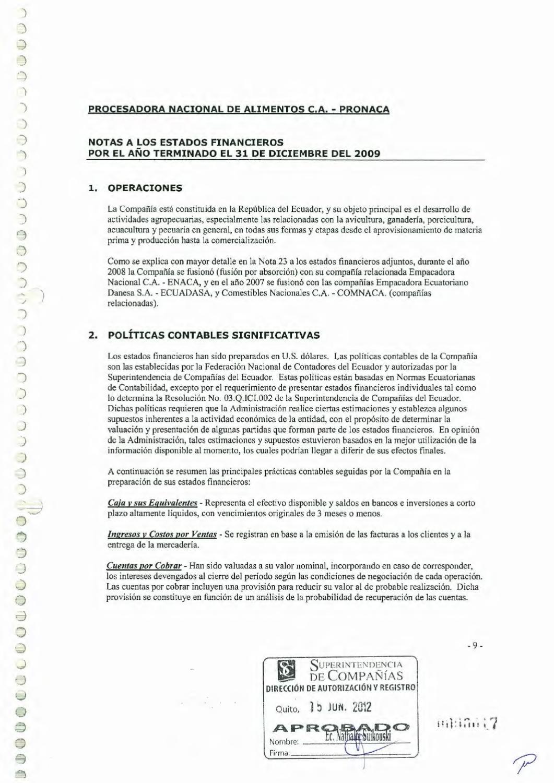 Prospecto Papel Comercial Pronaca by Bolsa de Valores de Quito - issuu