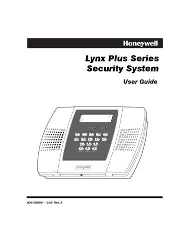 Honeywell 5828 And Honeywell 5828V User Guide by Alarm Grid - issuu