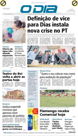 JORNAL O DIA by Jornal O Dia - issuu cf3d3e8374feb