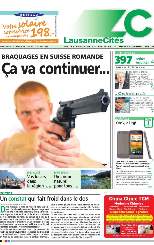 Lausanne Cités du 28.06.2012 by GHI   Lausanne Cités - issuu 72519d40482f