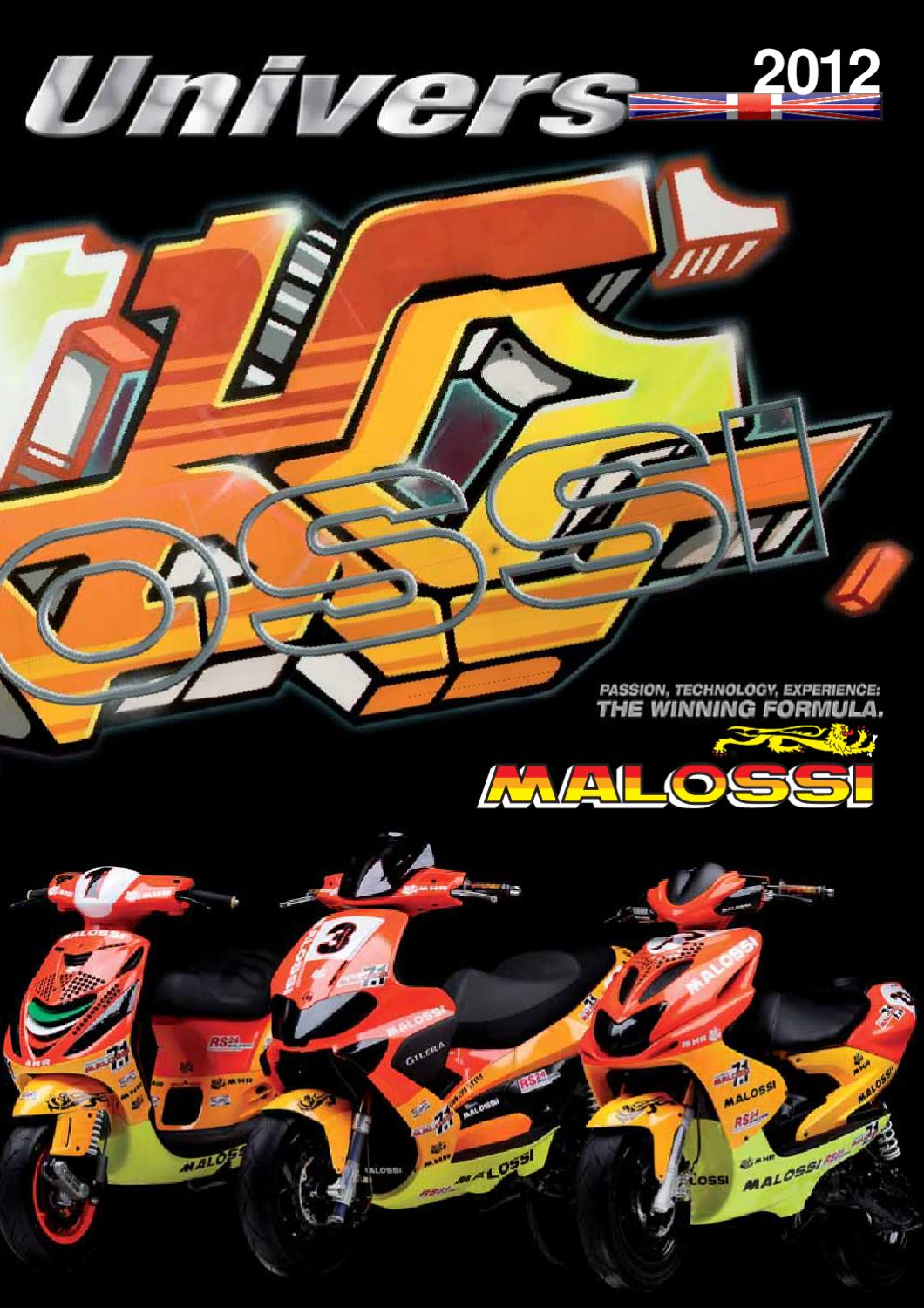 MALOSSI Universe english 2012 by SIP Scootershop GmbH - issuu