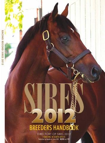 Sires Handbook 2012 by Sporting Post - issuu 81f0f22ca2a