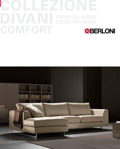 Divano Letto Berloni.Collezione Divani Comfort By Berloni Store Issuu