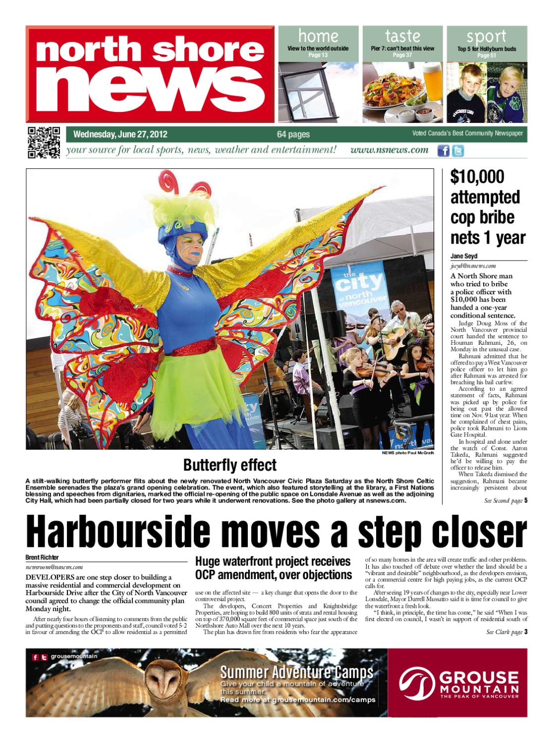 North Shore News June 27 2012 By Glacier Digital
