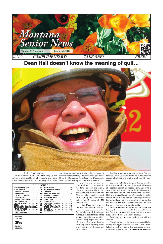 Montana Senior News June / July 2012 by Montana Senior News ...