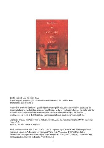 Codigo Da Vinci by fernando camacho - issuu 87a2b918b2d7