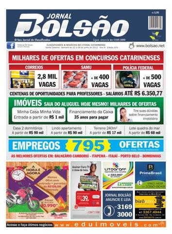 Edição 470 by Bolsão Jornal - issuu a9ec4ddd4c03e