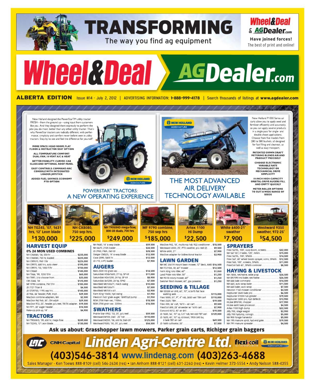 Wheel & Deal Alberta, July 2, 2012 by Farm Business Communications -  issuu