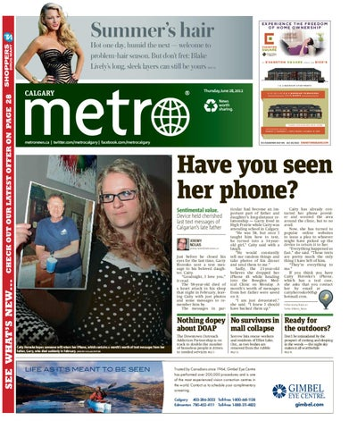 20120628_Calgary by Metro International - issuu