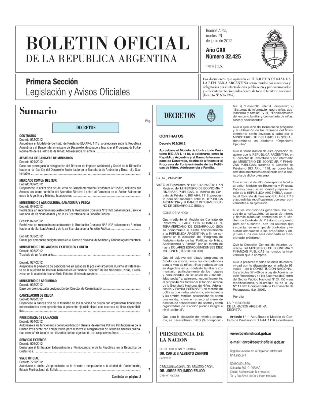 Boletin Oficial 26/06/12 by Solo Local.Info - issuu