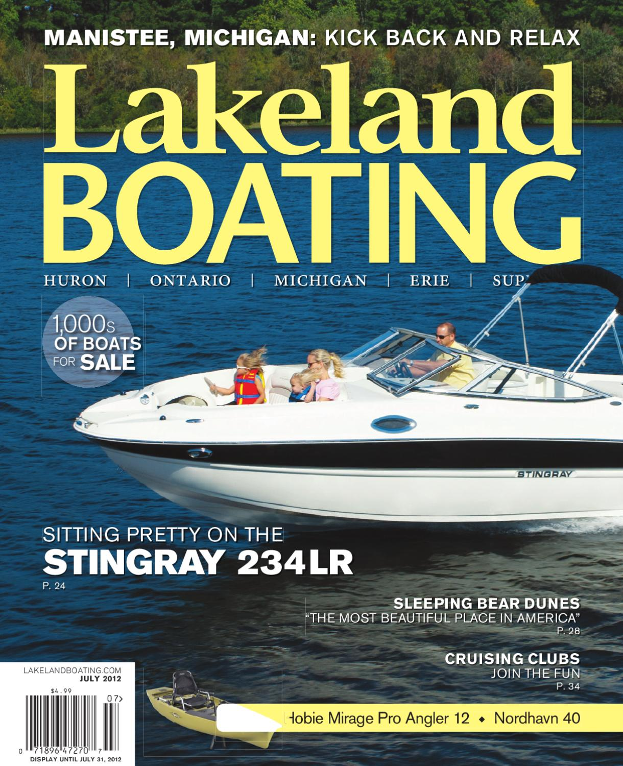 Lakeland Boating July 2012 By Magazine Issuu Boat Wire Diagram 1971 Winner