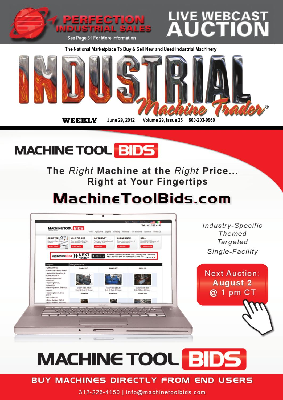 Industrial Machine Trader® June 29, 2012 by Heartland
