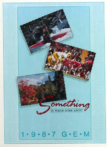 1987 Gem of the Mountains, Volume 85 - University of Idaho Yearbook by  University of Idaho Library - issuu