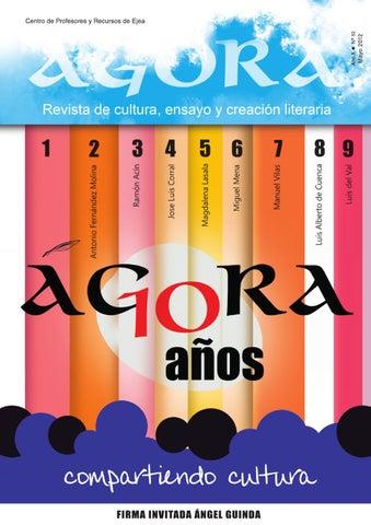 Ágora nº 10 by Ágora Revista de cultura 45c5960b614