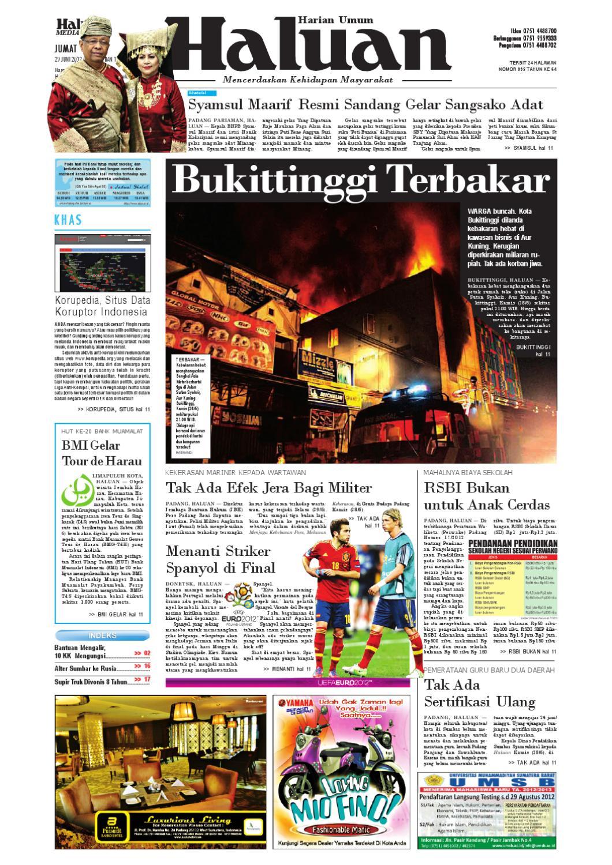 Haluan 29 Juni 2012 By Harian Issuu Bri Produk Ukm Bumn Kain Doby Motif Bunga