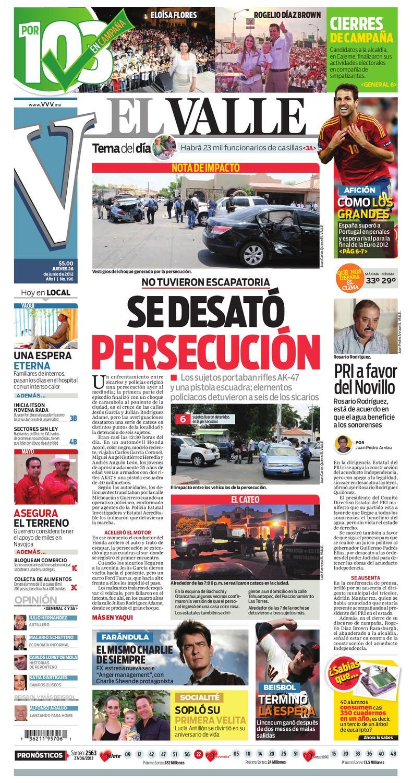 El Valle Junio 28 By Periodico El Valle Issuu