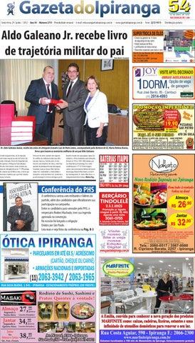Gazeta do Ipiranga - Edição de 29 06 2012 by Casé Oliveira - issuu 440b178192
