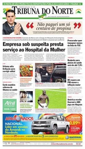 Tribuna do Norte - 29 06 2012 by Empresa Jornalística Tribuna do ... dc7e73367d