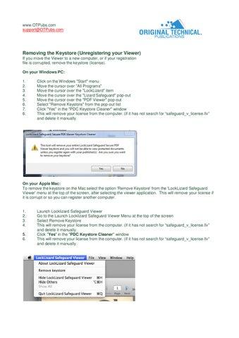 locklizard license file