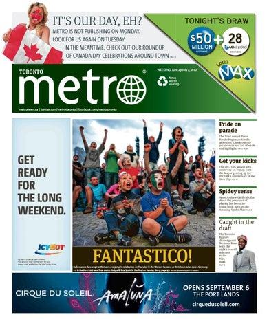20120629_Toronto by Metro International - issuu