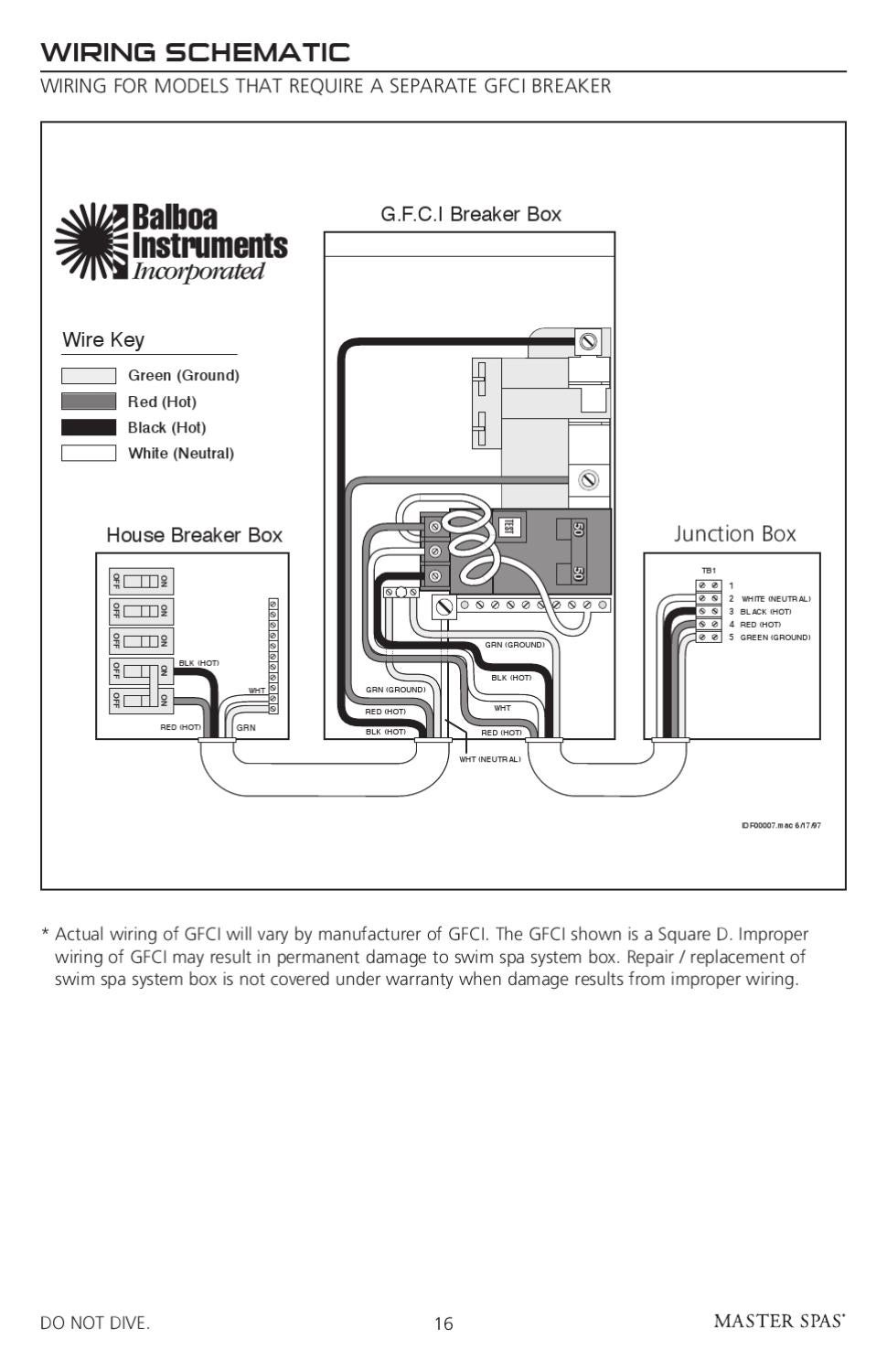 wiring 240 volt gfci spa h2x owner s manual by master spa parts issuu  h2x owner s manual by master spa parts