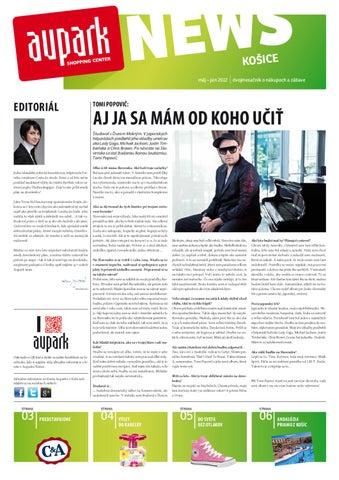 173cda0ea7 Aupark News by Petra Juhasova - issuu