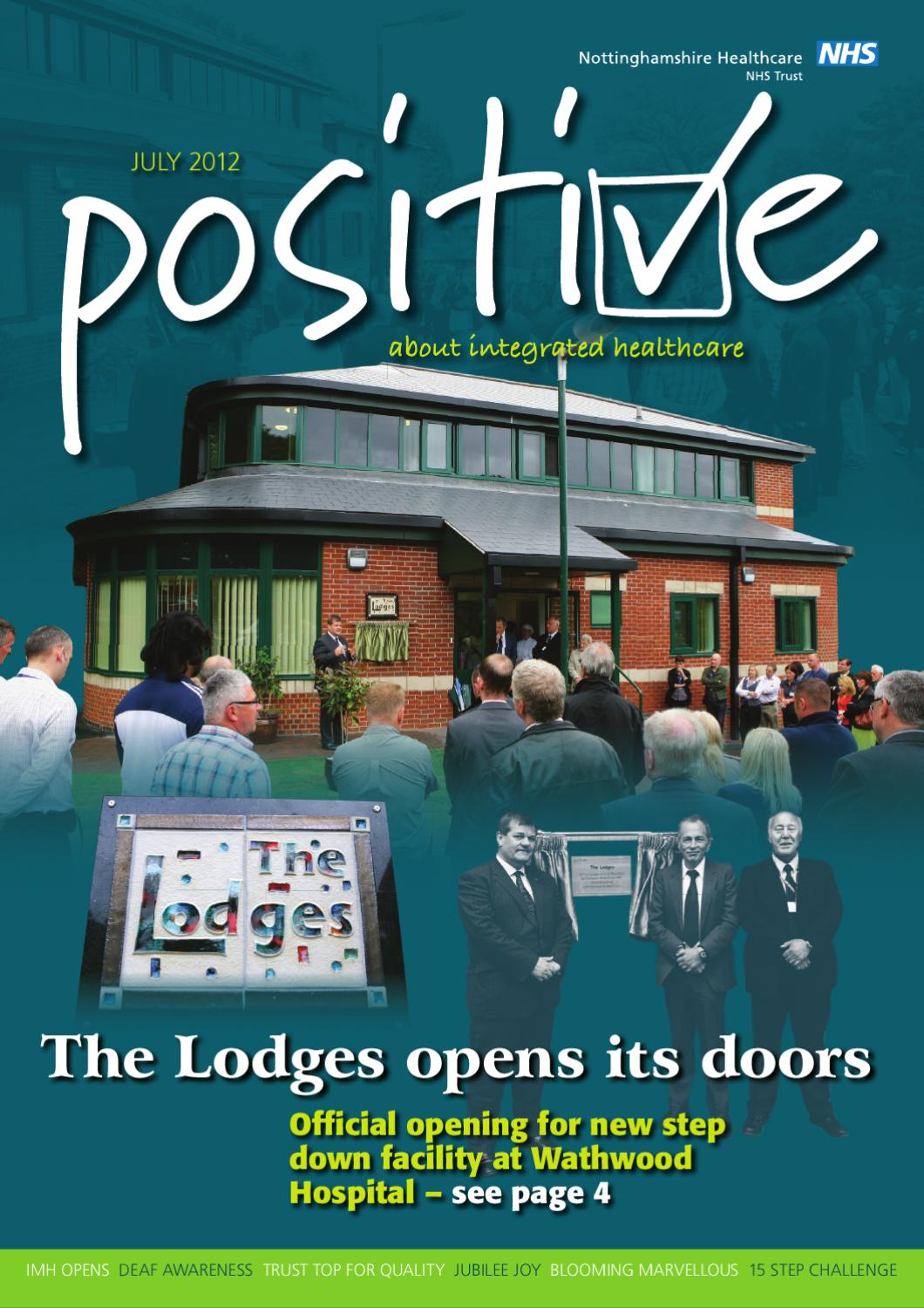 Positive July 2012 by Hargrave Design - issuu