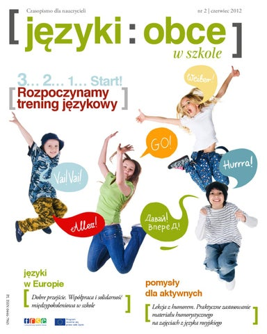 Języki Obce W Szkole Nr 2 2012 By Fundacja Rozwoju Systemu Edukacji