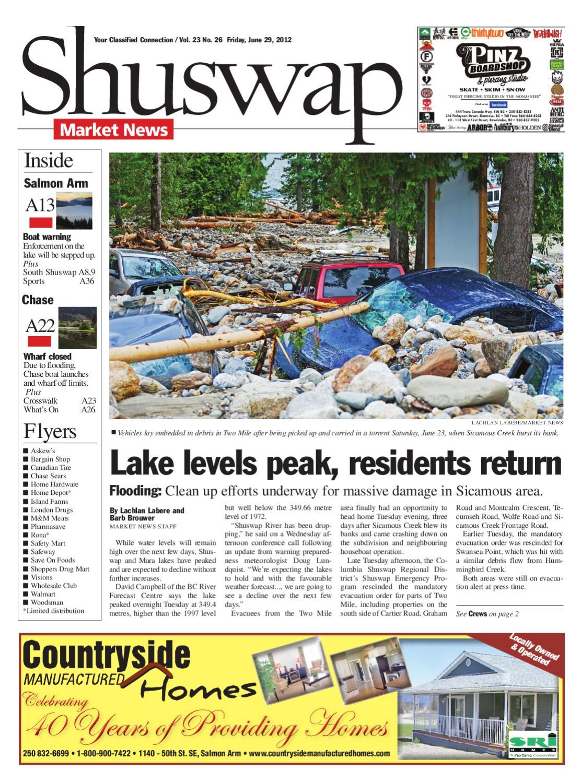 1b0615eeeb8 Salmon Arm Observer, June 29, 2012 by Black Press Media Group - issuu