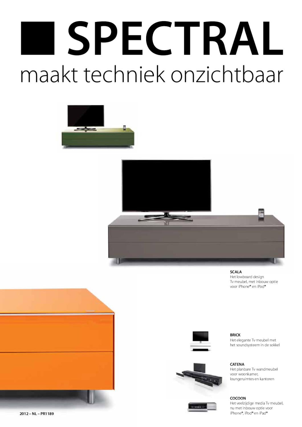 Brick Tv Meubel.Spectral 2012 By Forward Consumer Electronics B V Issuu