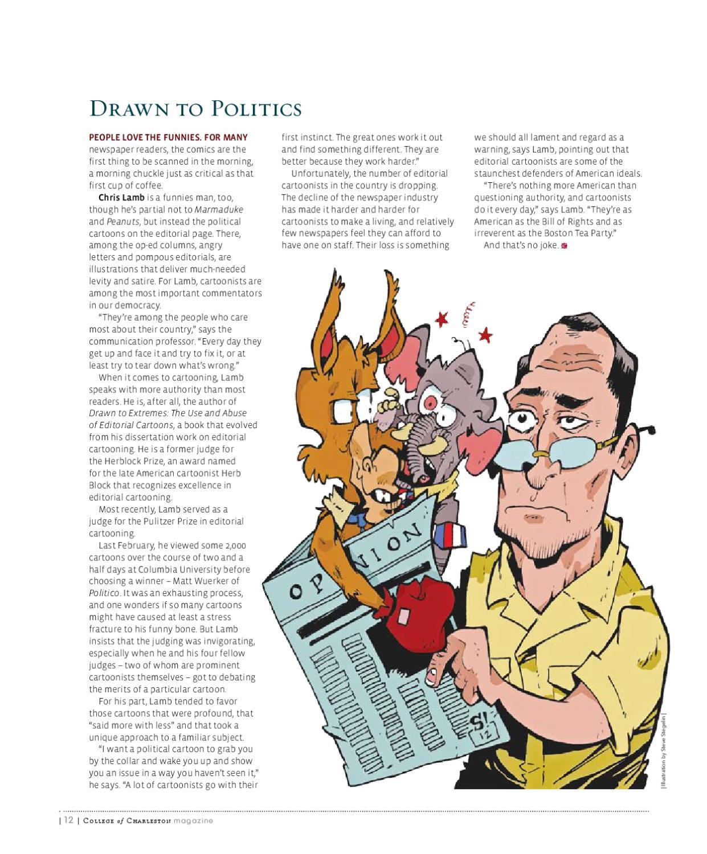 College of Charleston Magazine by College of Charleston - issuu
