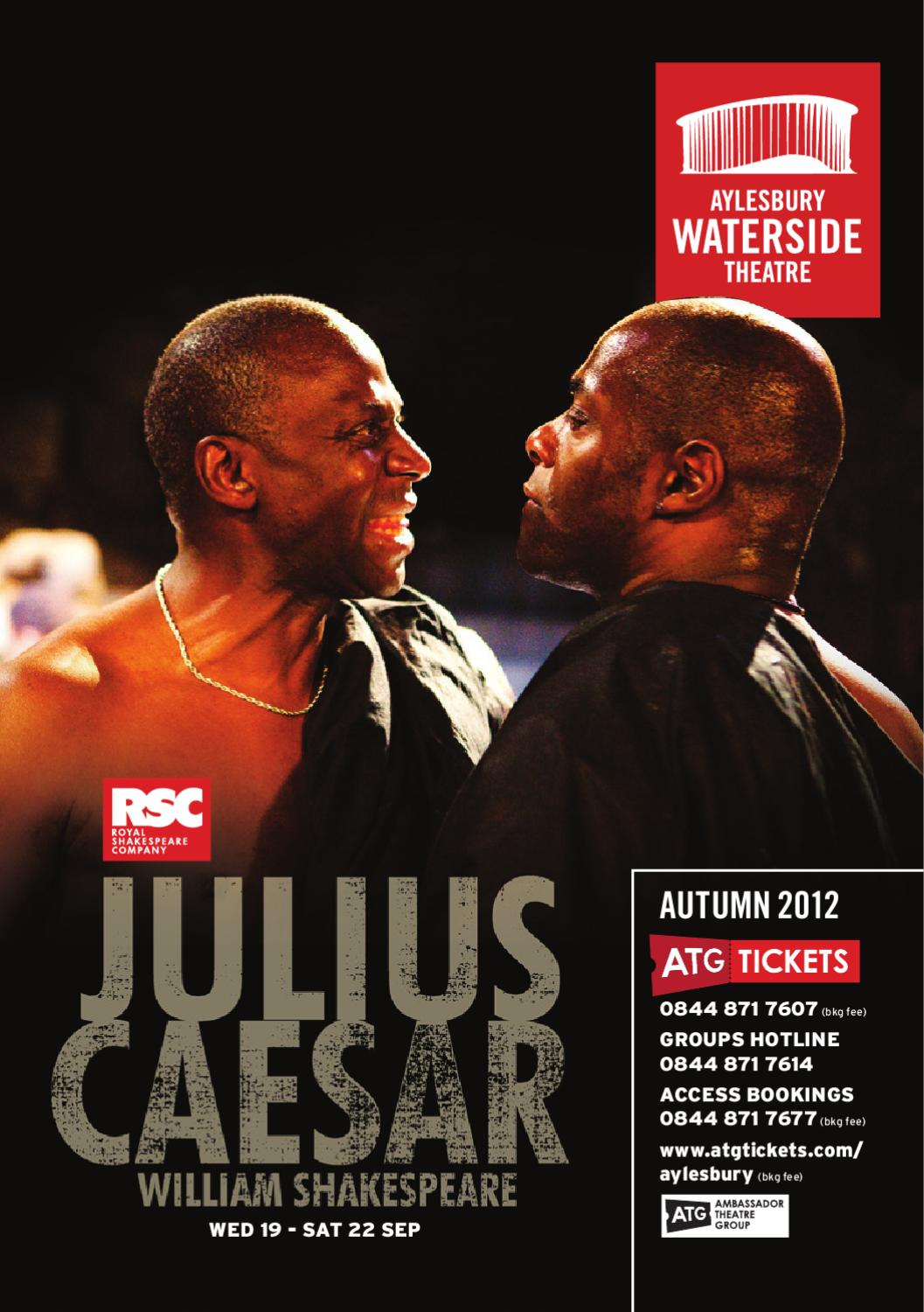 Aylesbury Waterside Theatre Autumn 2012 Brochure