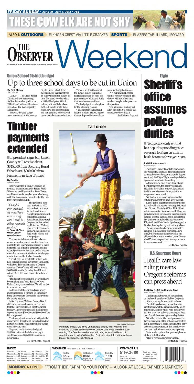LA GRANDE OBSERVER 06-29-12 by NorthEast Oregon News - issuu 715e9c7f7da