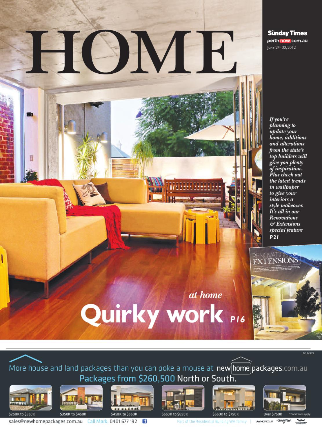 Home Magazine June 24 by PerthNow - issuu on