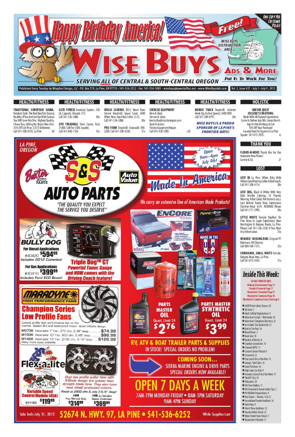 Wise Buys 5-27 by Wise Buys Ads & More - issuu Harness Phillips Wire on
