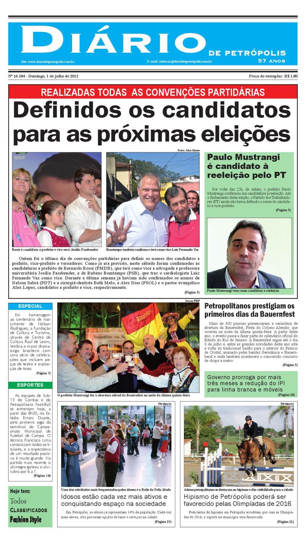 diariodepetropolis by Diário de Petrópolis - issuu 10676a7a86b02