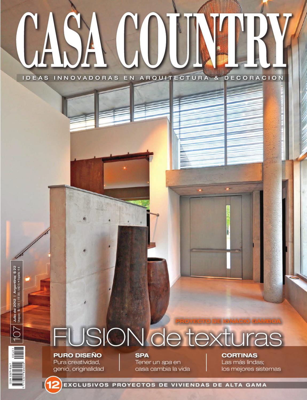 Casa Country 107 - Julio 2012 by Jauna - issuu