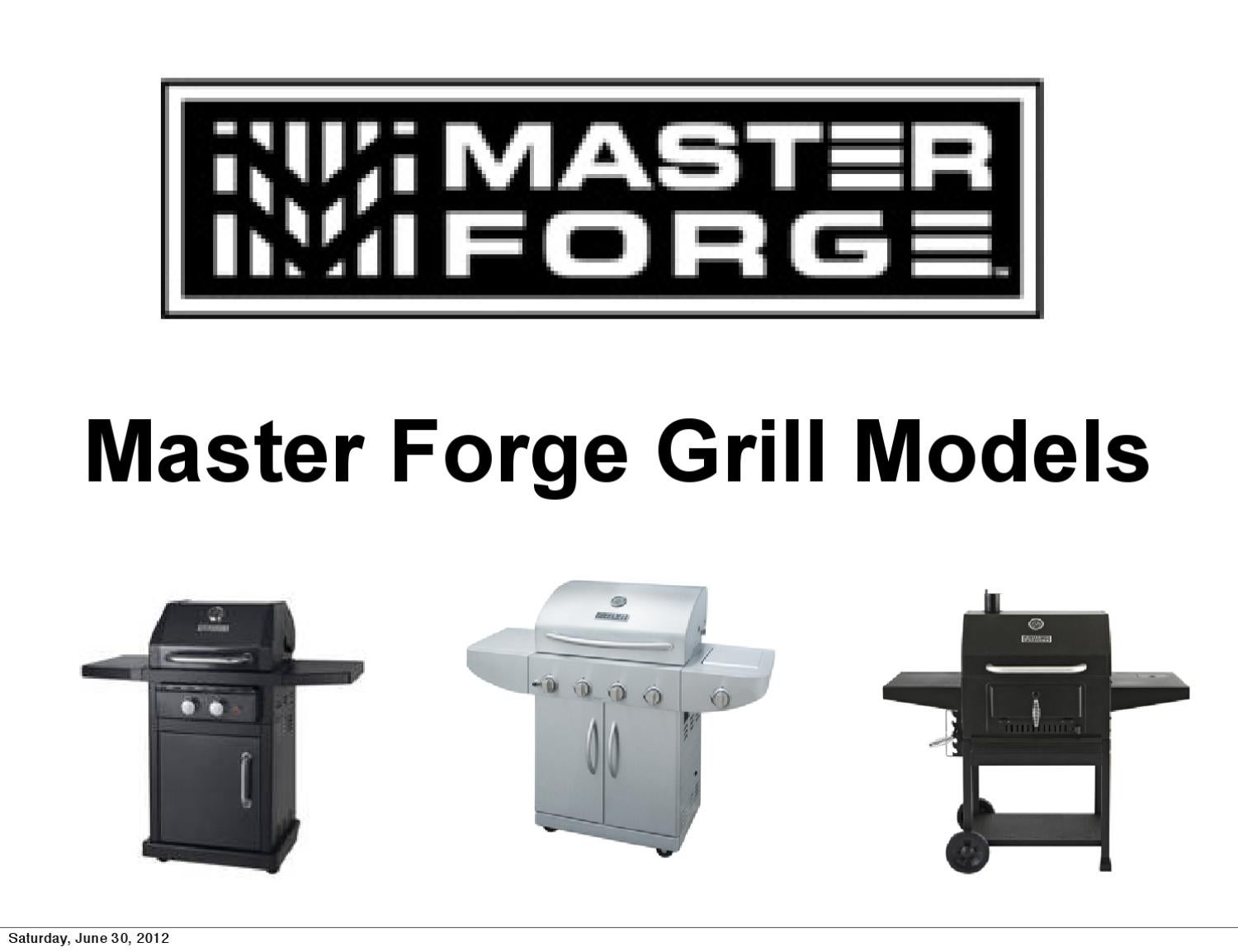 Master Forge Natural Gas Conversion