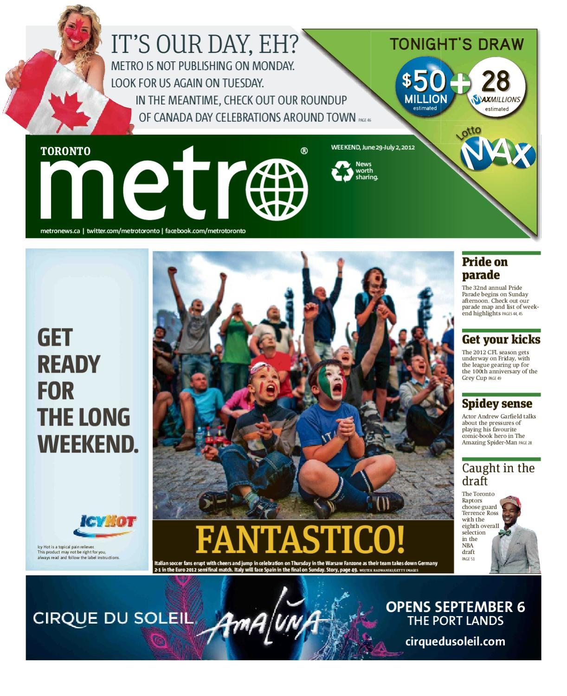 57c31208ceb1 20120629 Toronto by Metro International - issuu