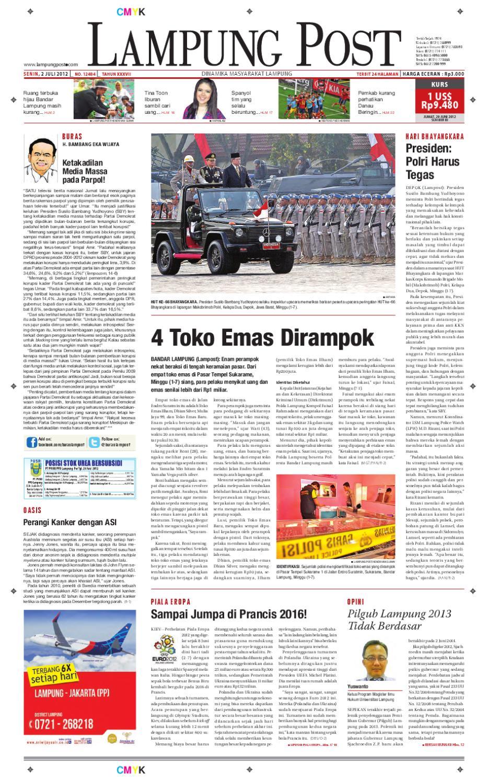 Lampung Post Edisi Senin 4a28608843